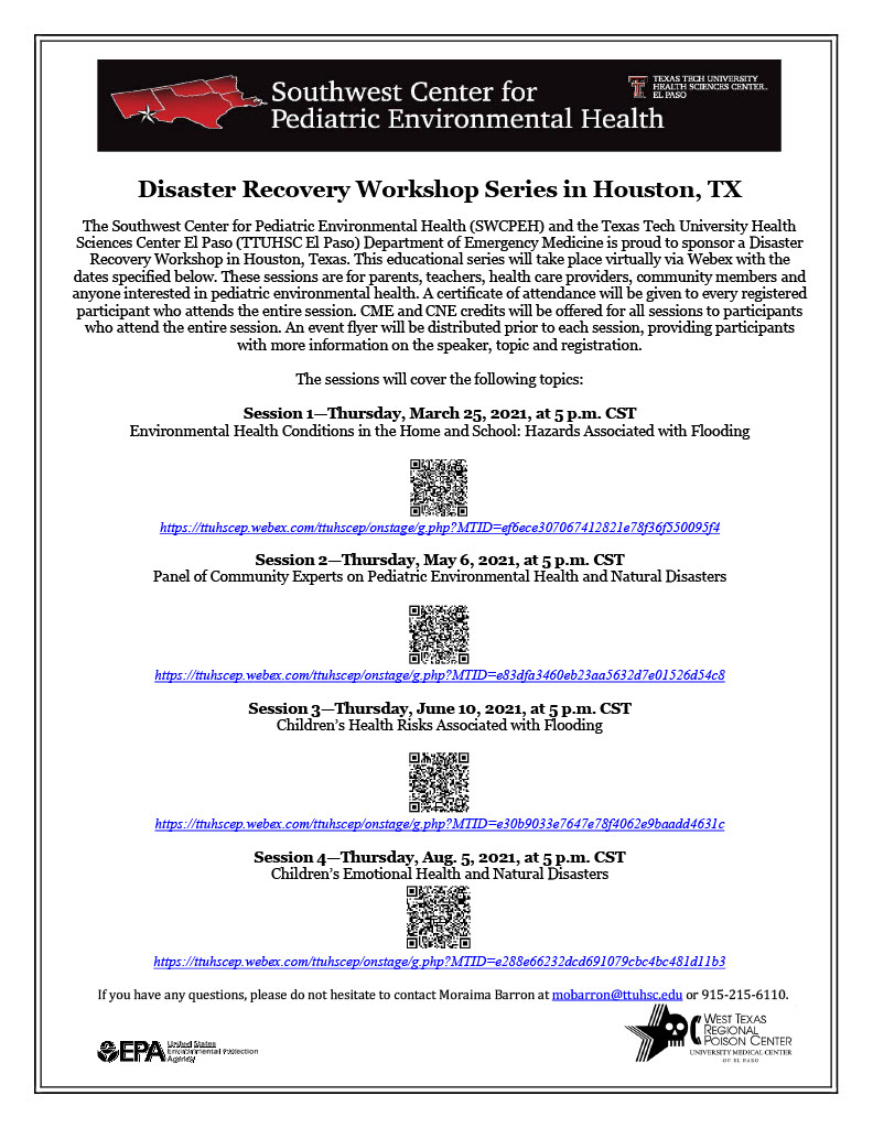DIsaster Recovery Workshop in Houston TX